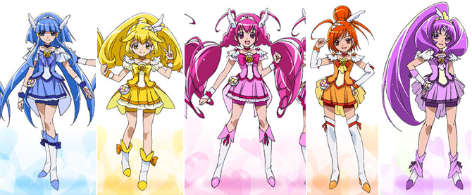 Pretty Cure! High Quality Background on Wallpapers Vista