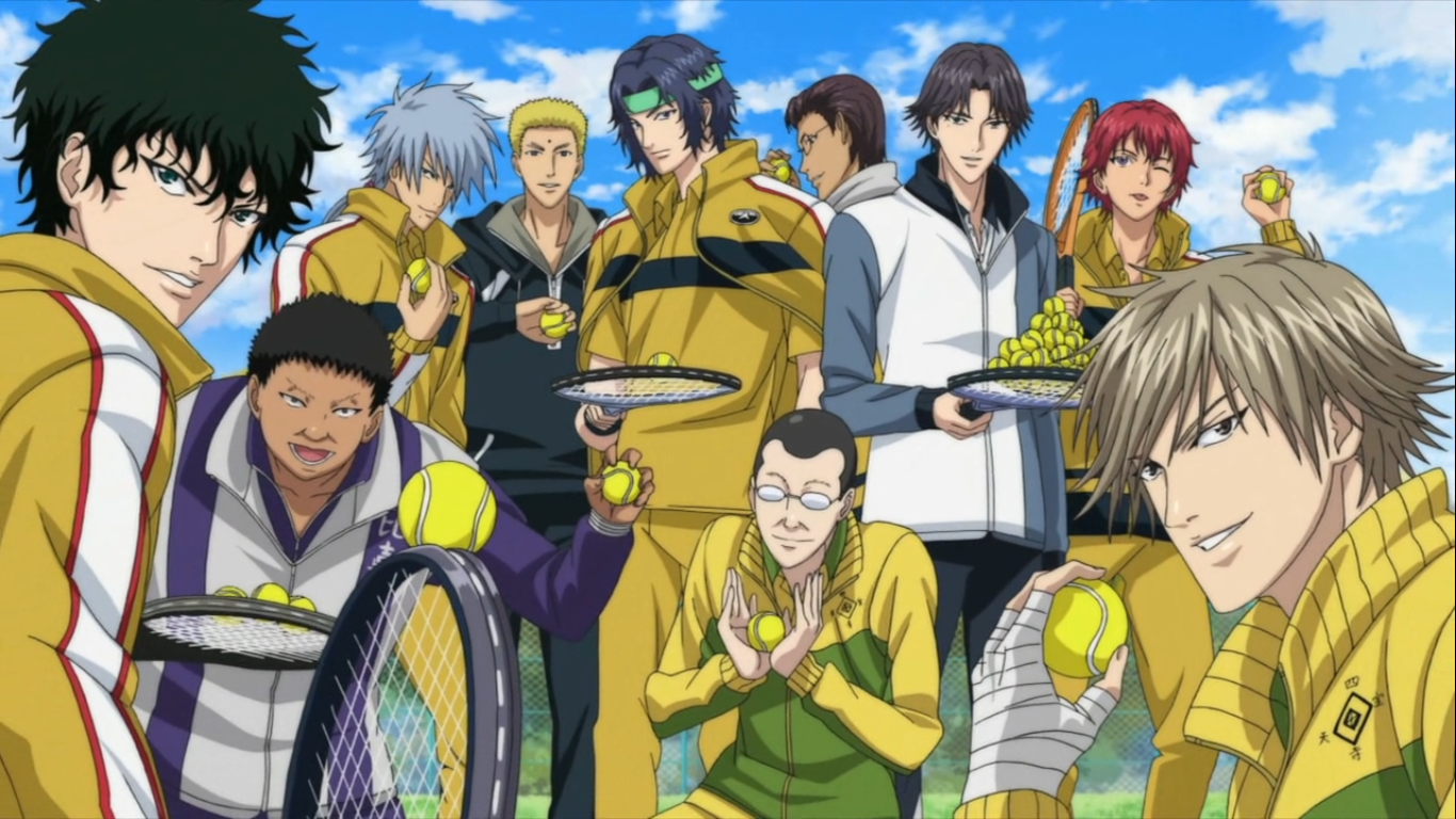 Prince Of Tennis Backgrounds, Compatible - PC, Mobile, Gadgets| 1366x768 px