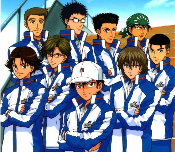 HD Quality Wallpaper | Collection: Anime, 559x485 Prince Of Tennis