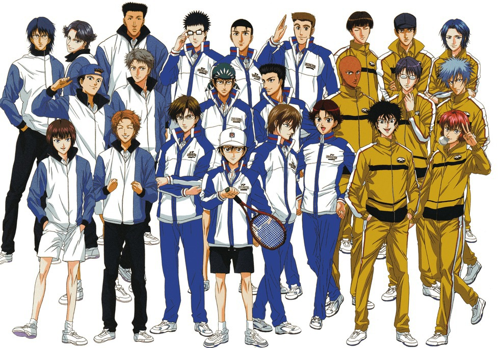Nice Images Collection: Prince Of Tennis Desktop Wallpapers