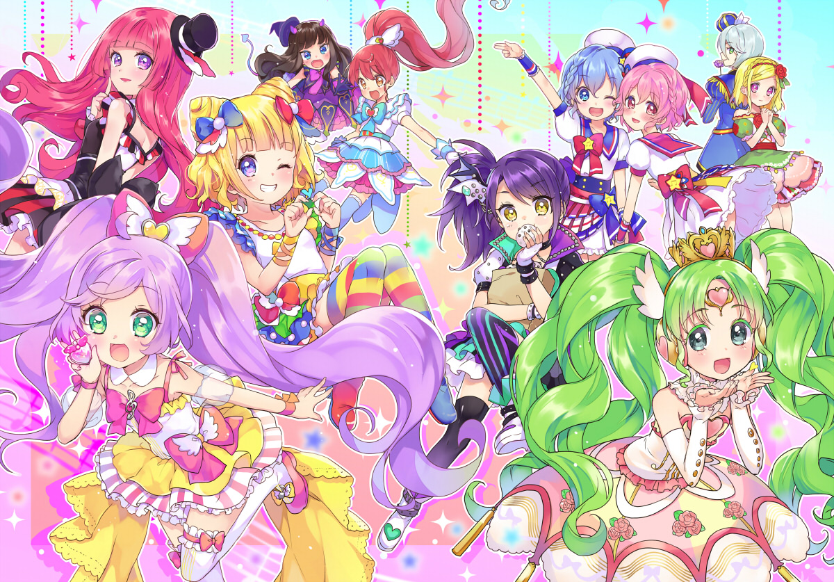 PriPara High Quality Background on Wallpapers Vista
