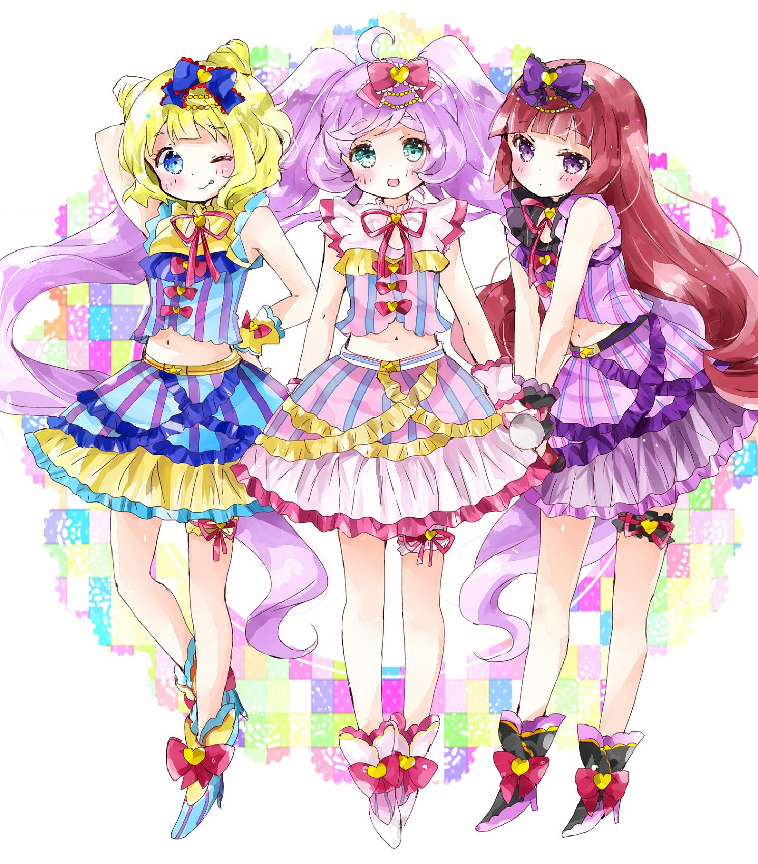 HD Quality Wallpaper | Collection: Anime, 1489x1697 PriPara