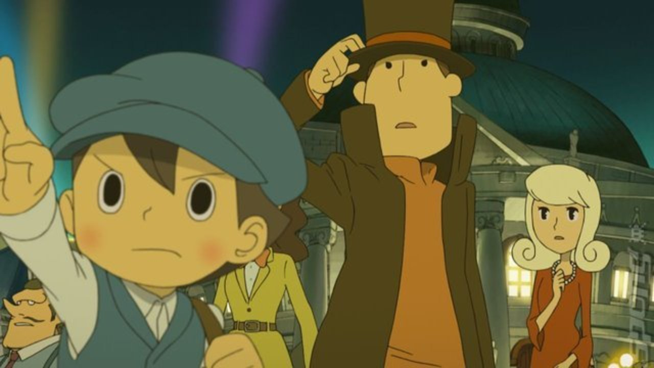 Most Viewed Professor Layton And The Miracle Mask Wallpapers 4k