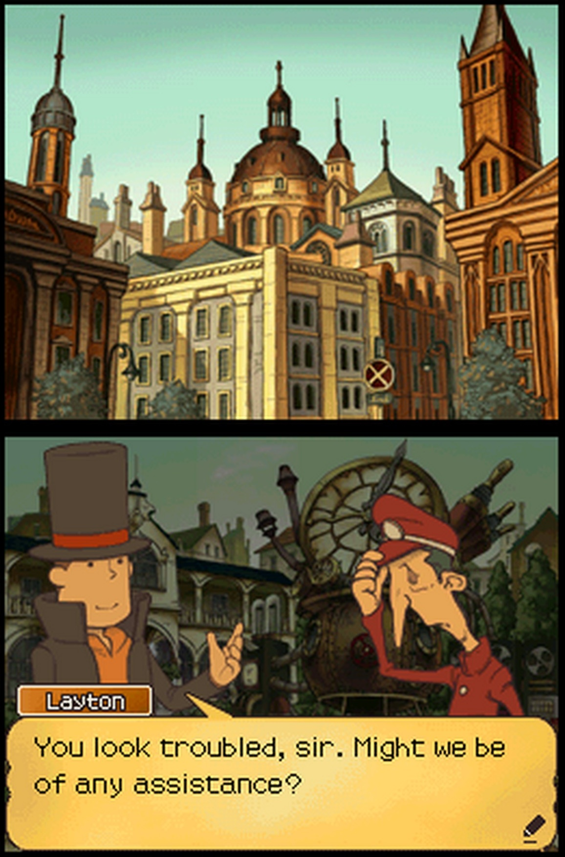 Professor Layton And The Unwound Future Wallpapers Video Game Hq