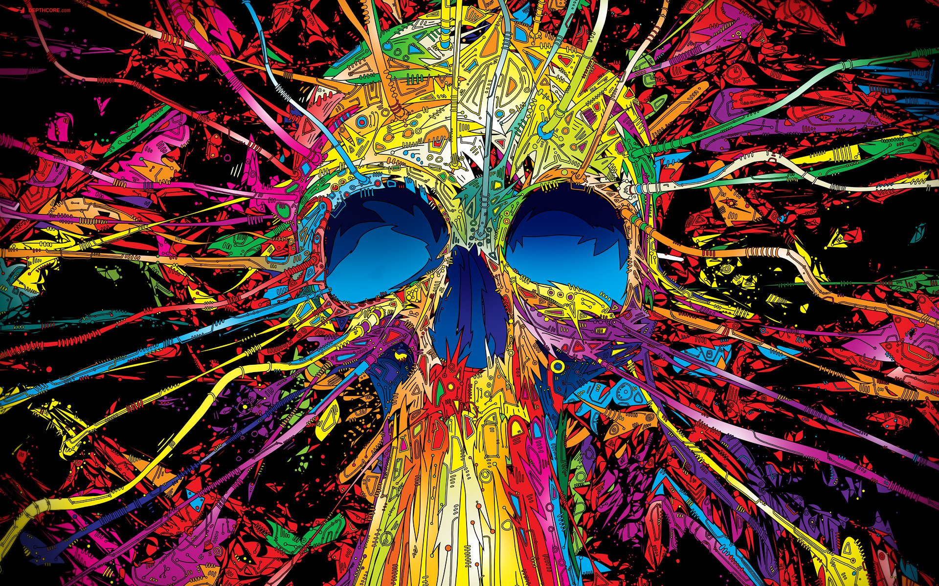 Nice Images Collection: Psychedelic Desktop Wallpapers
