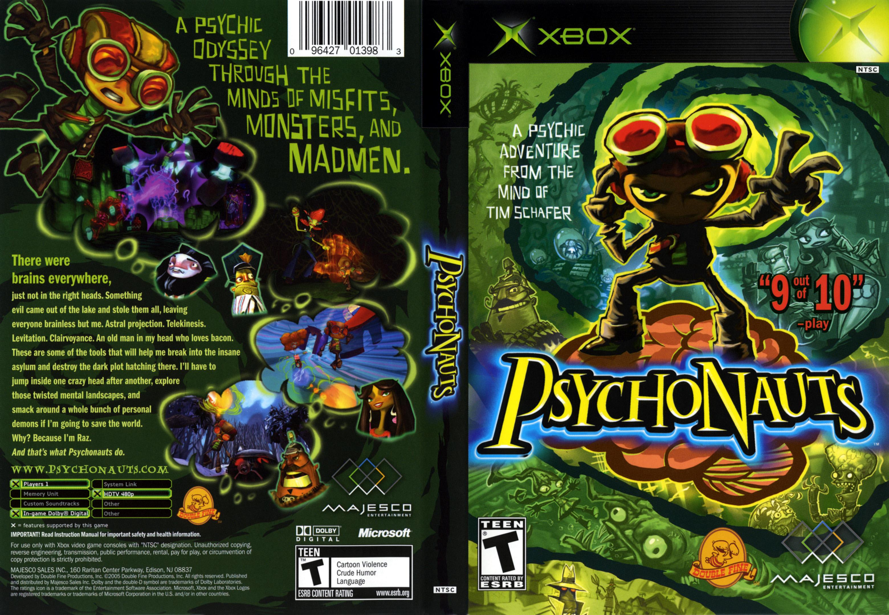 Images of Psychonauts | 3120x2160