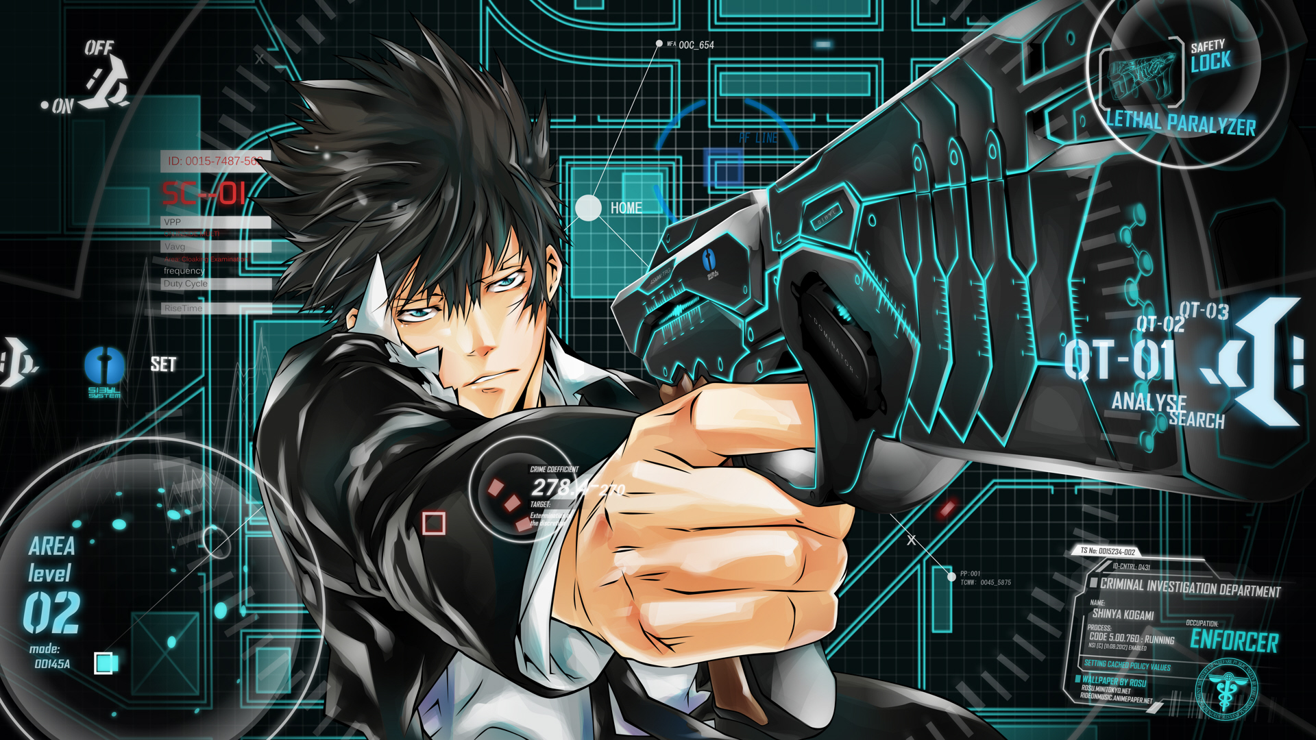 Nice Images Collection: Psycho-Pass Desktop Wallpapers