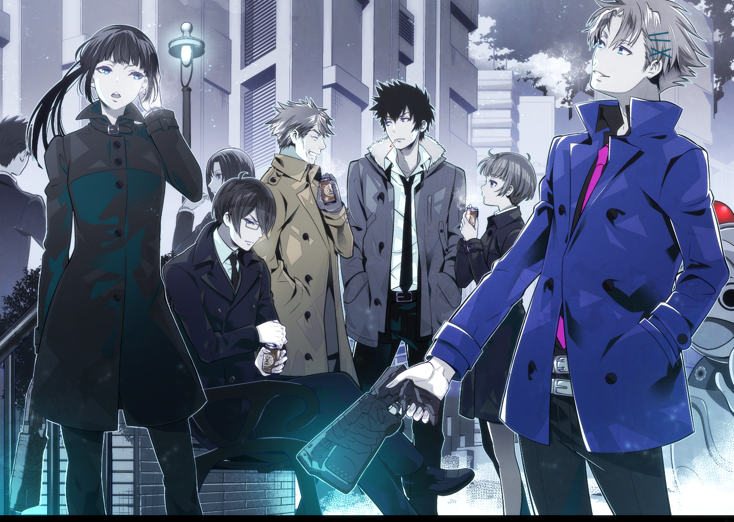 HD Quality Wallpaper   Collection: Anime, 1511x1074 Psycho-Pass