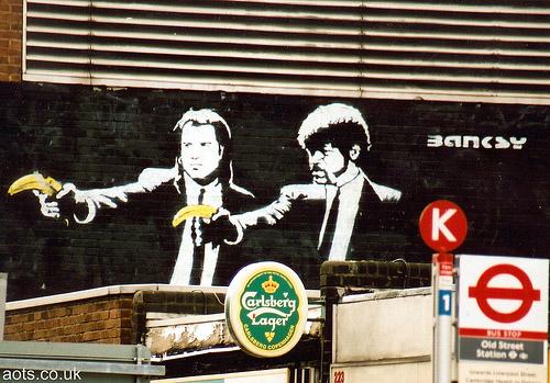 500x349 > Pulp Fiction Street Art Wallpapers