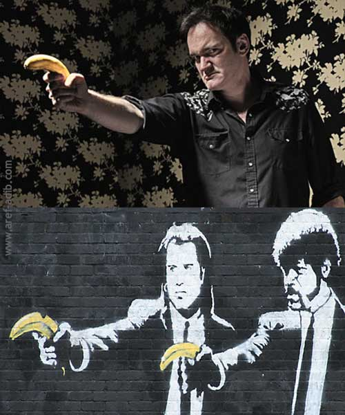 Pulp Fiction Street Art High Quality Background on Wallpapers Vista