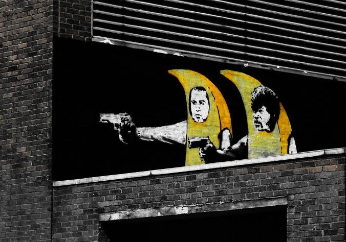 Images of Pulp Fiction Street Art | 676x474