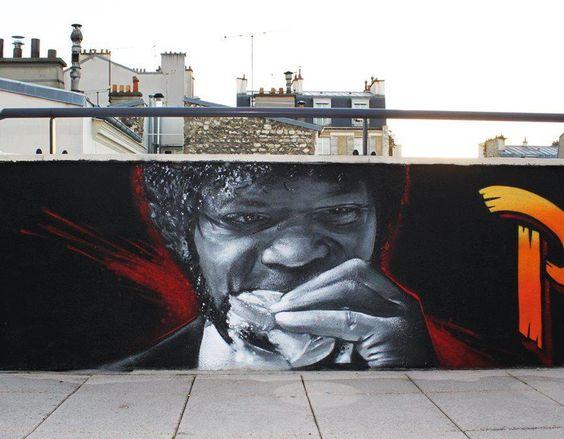 Amazing Pulp Fiction Street Art Pictures & Backgrounds