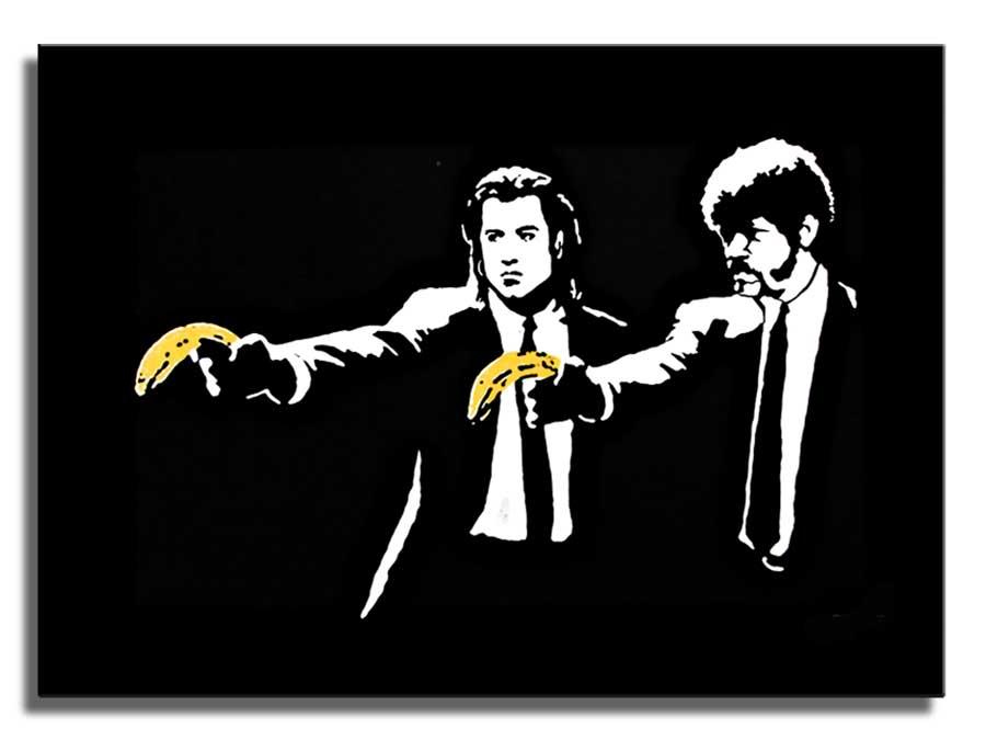 Pulp Fiction Street Art Backgrounds, Compatible - PC, Mobile, Gadgets| 900x675 px