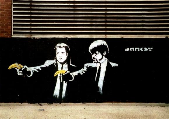 580x410 > Pulp Fiction Street Art Wallpapers