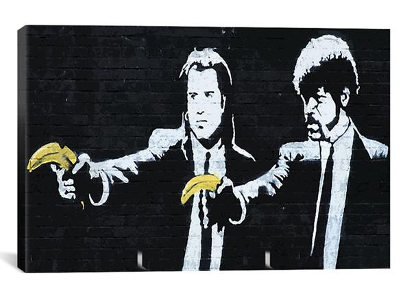 High Resolution Wallpaper | Pulp Fiction Street Art 588x441 px