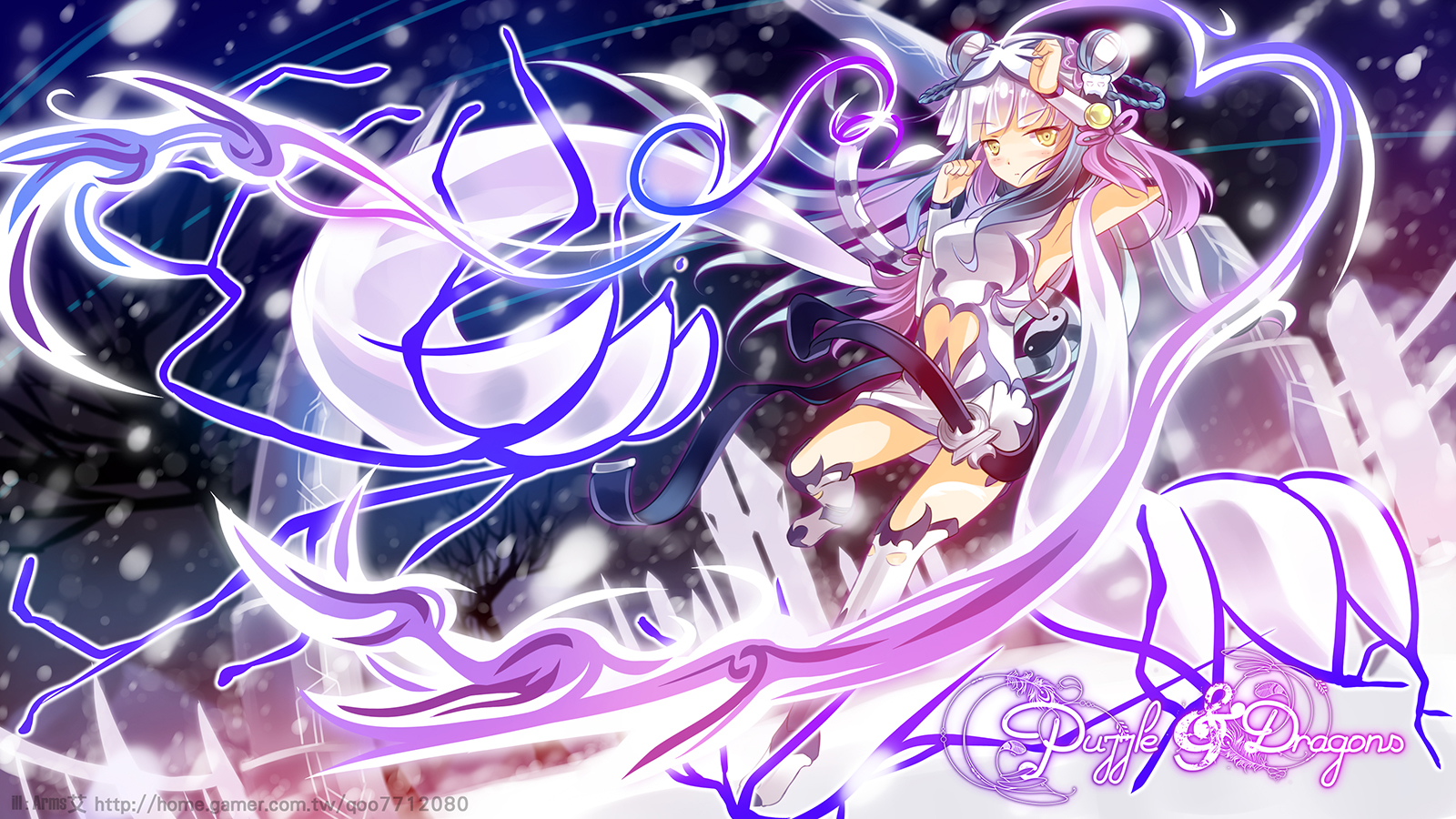 HD Quality Wallpaper | Collection: Anime, 1600x900 Puzzle & Dragons