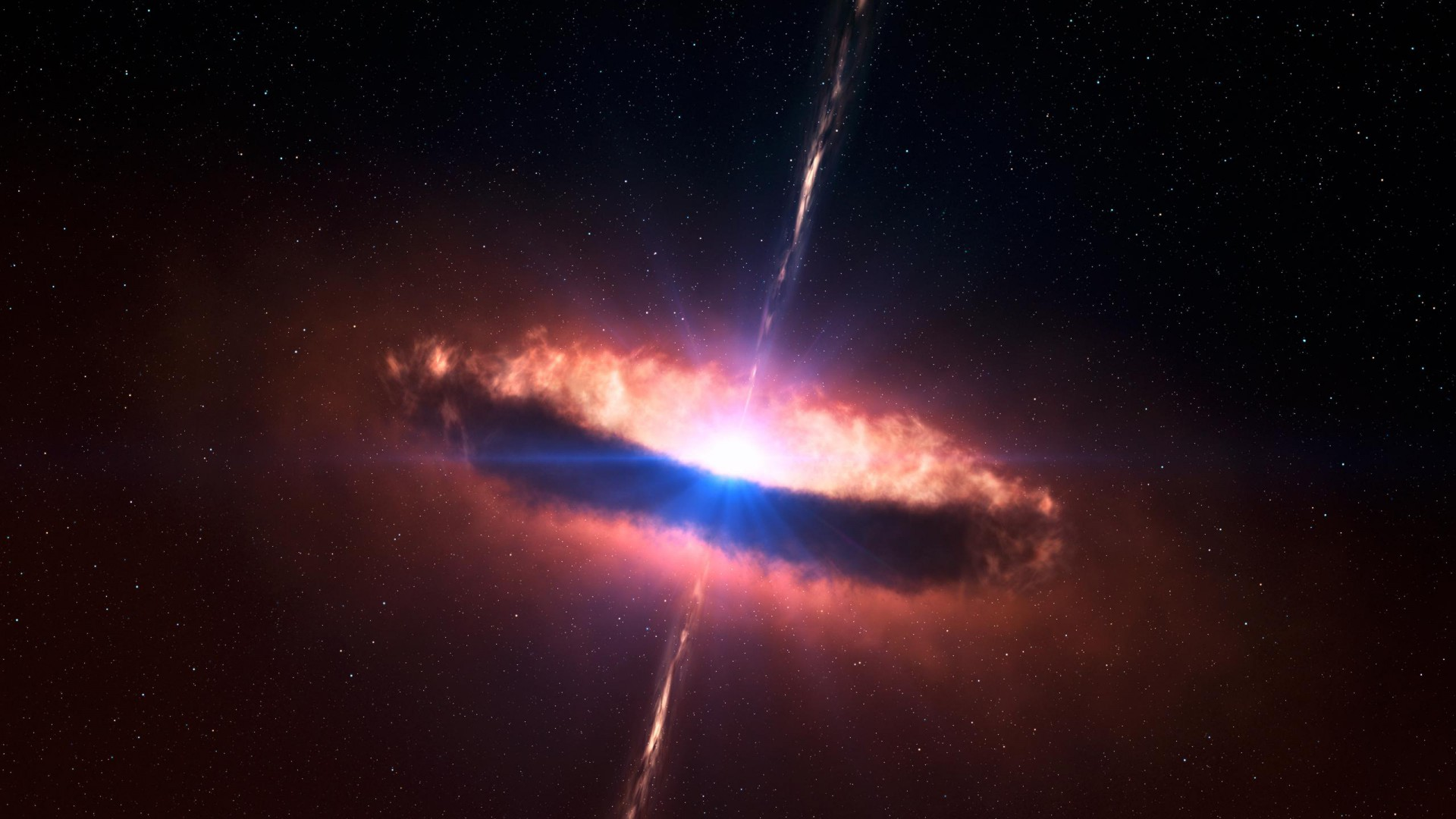 Quasar High Quality Background on Wallpapers Vista