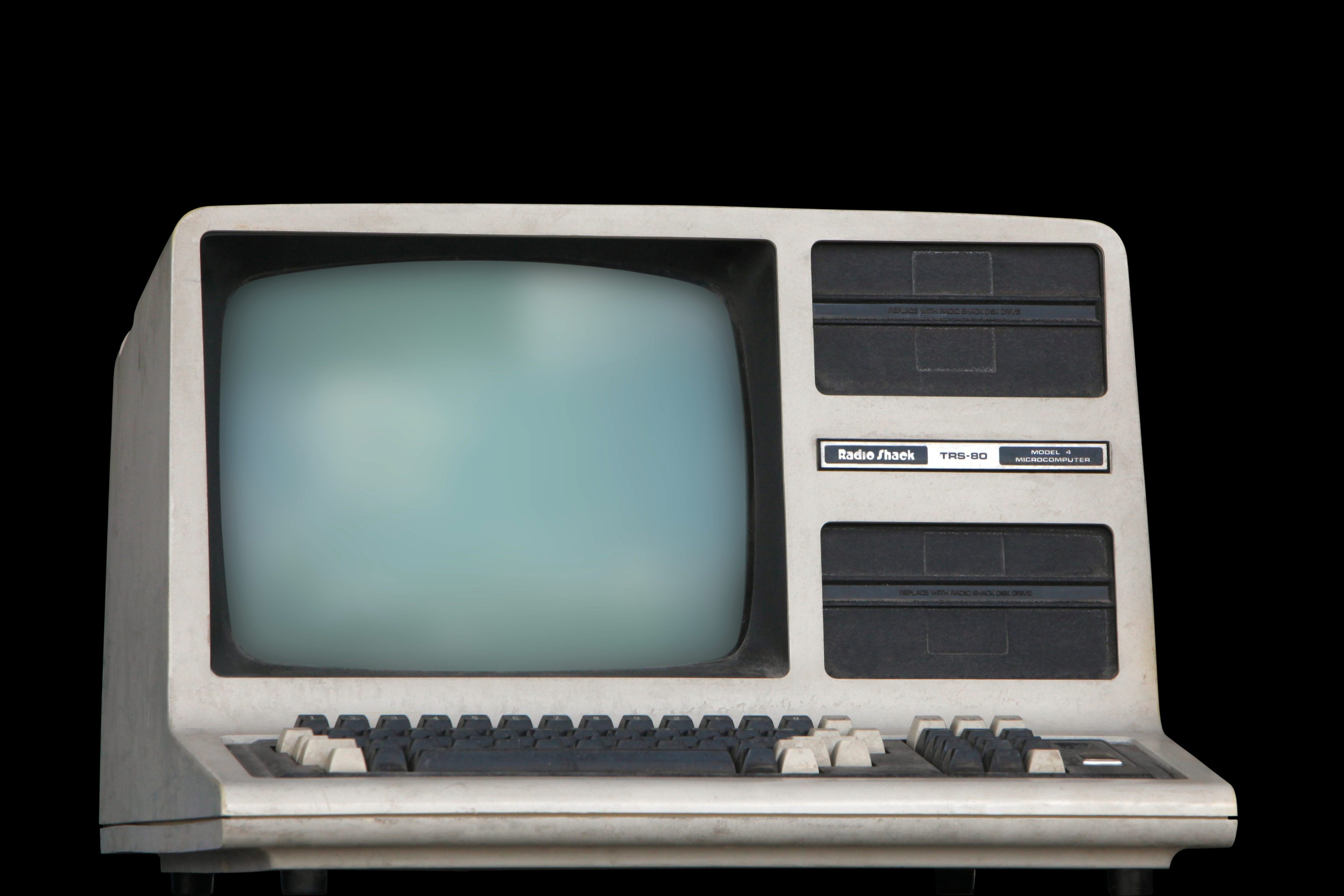 Nice wallpapers Radio Shack TRS-80 4559x3039px