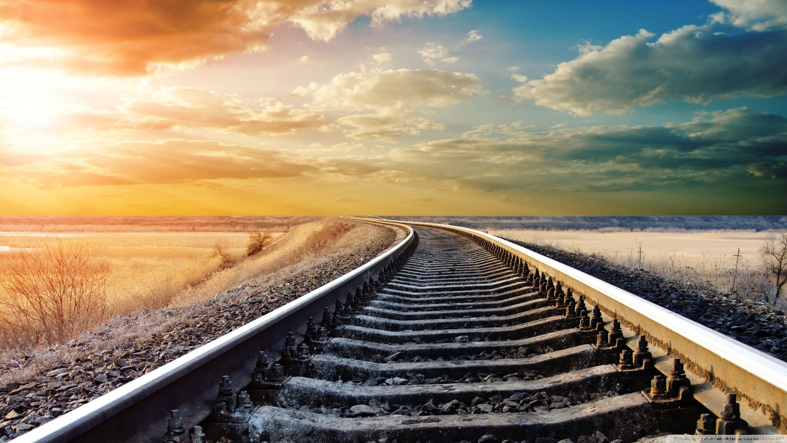 Railroad High Quality Background on Wallpapers Vista