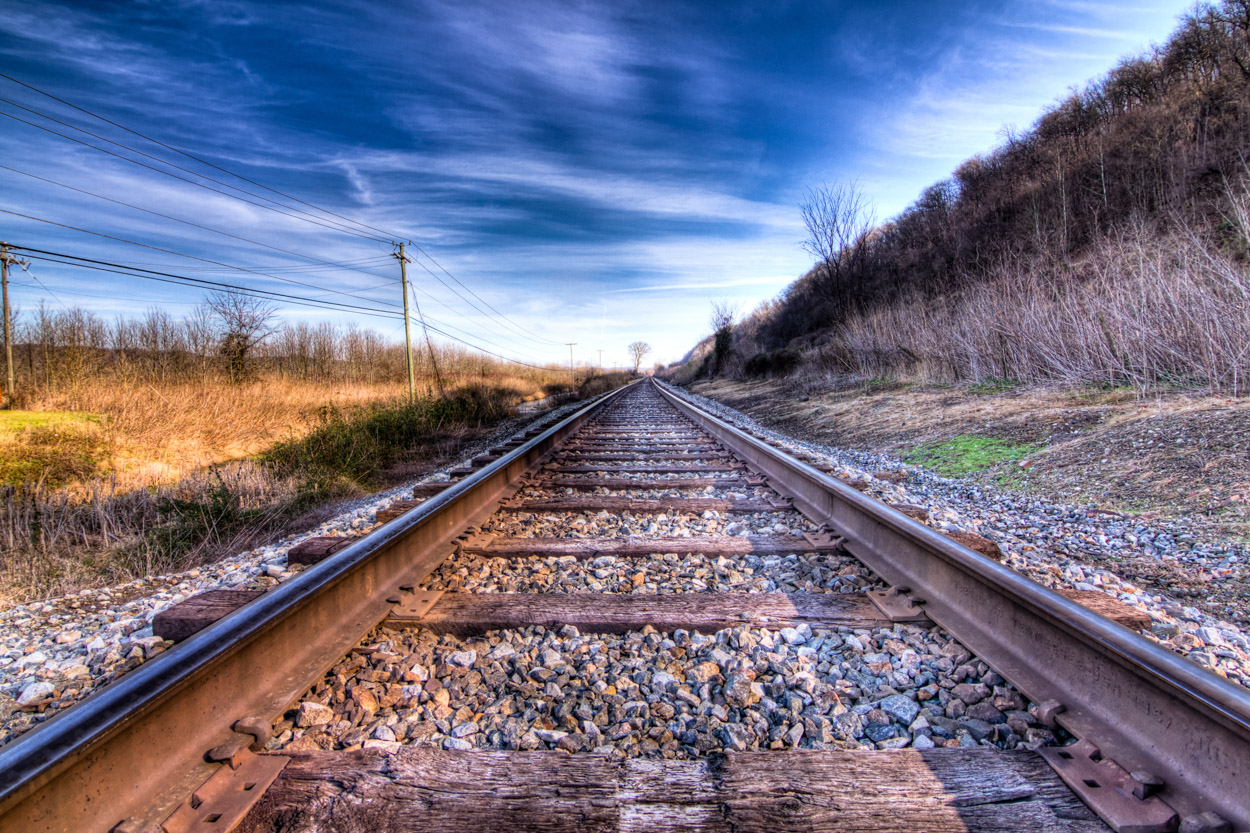HD Quality Wallpaper | Collection: Artistic, 1250x833 Railroad