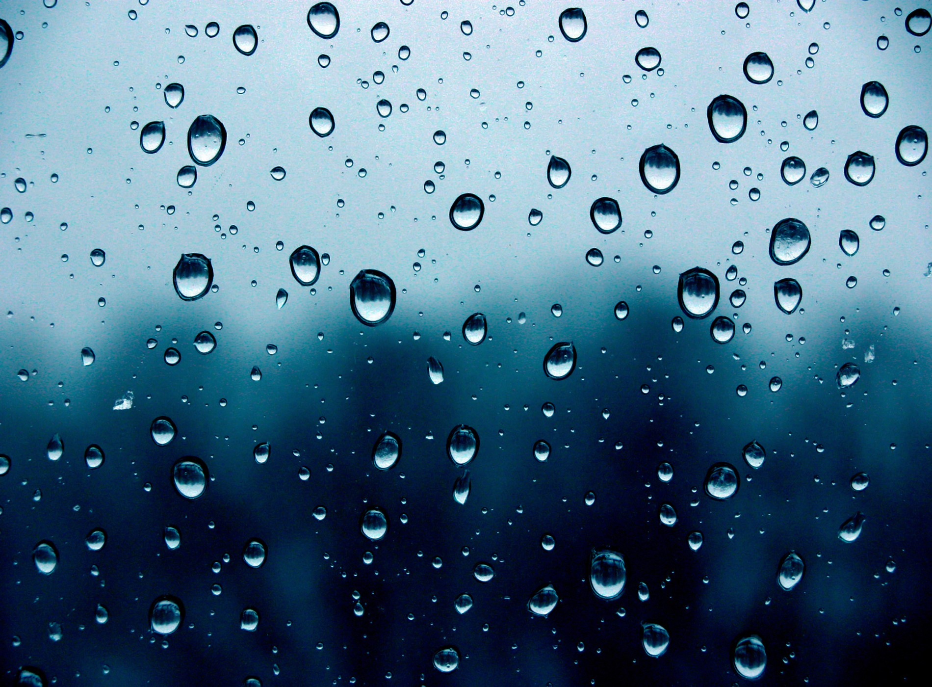 Nice Images Collection: Raindrops Desktop Wallpapers