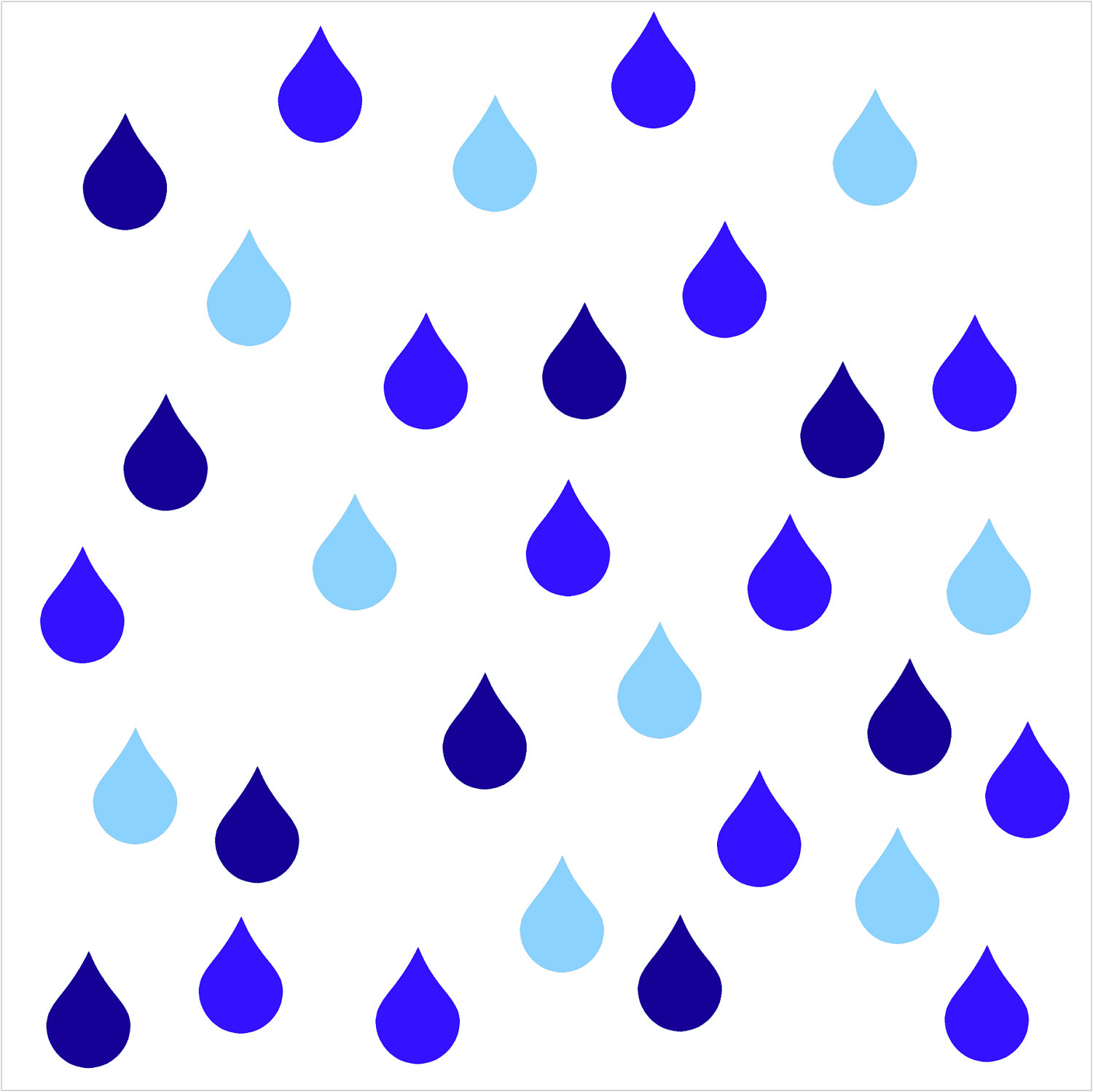 Nice wallpapers Raindrops 1500x1498px
