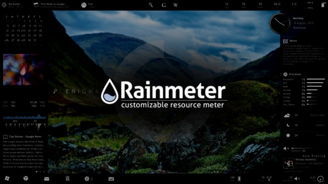 Images of Rainmeter | 650x365