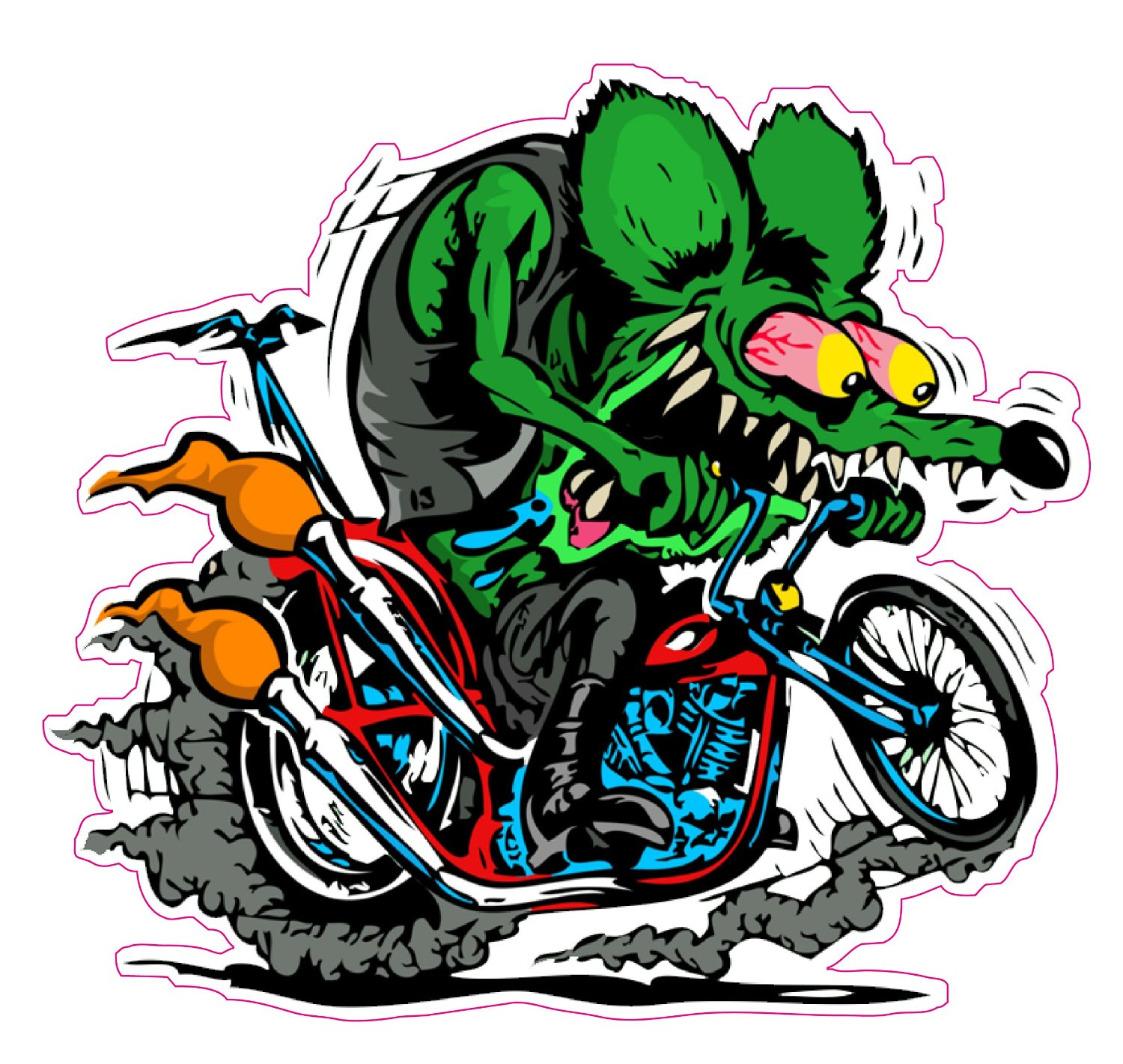 HD Quality Wallpaper | Collection: Artistic, 1500x1421 Rat Fink