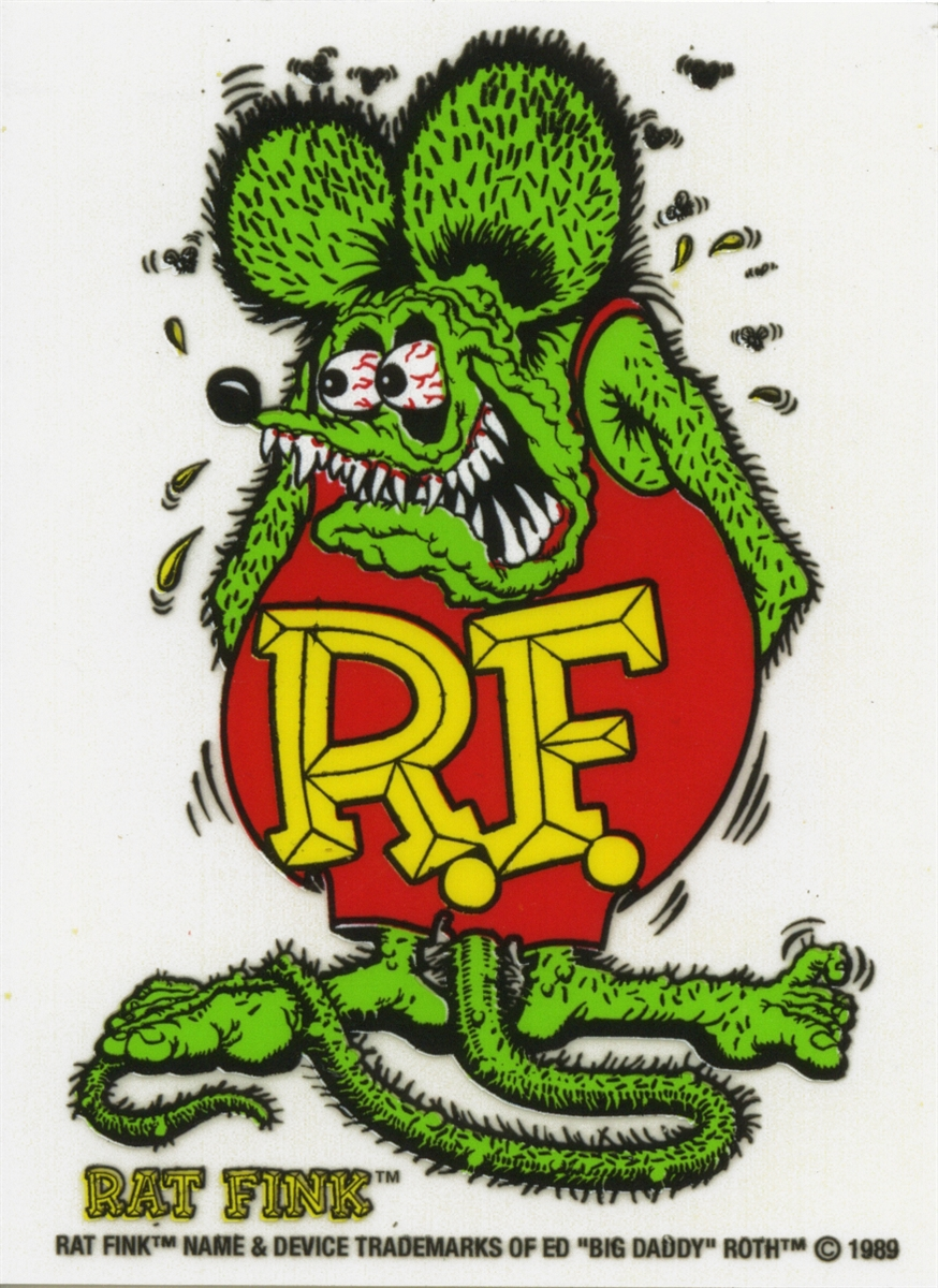 HD Quality Wallpaper | Collection: Artistic, 874x1200 Rat Fink
