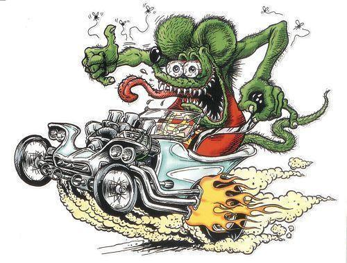 HD Quality Wallpaper | Collection: Artistic, 500x379 Rat Fink