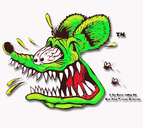 HD Quality Wallpaper | Collection: Artistic, 491x439 Rat Fink
