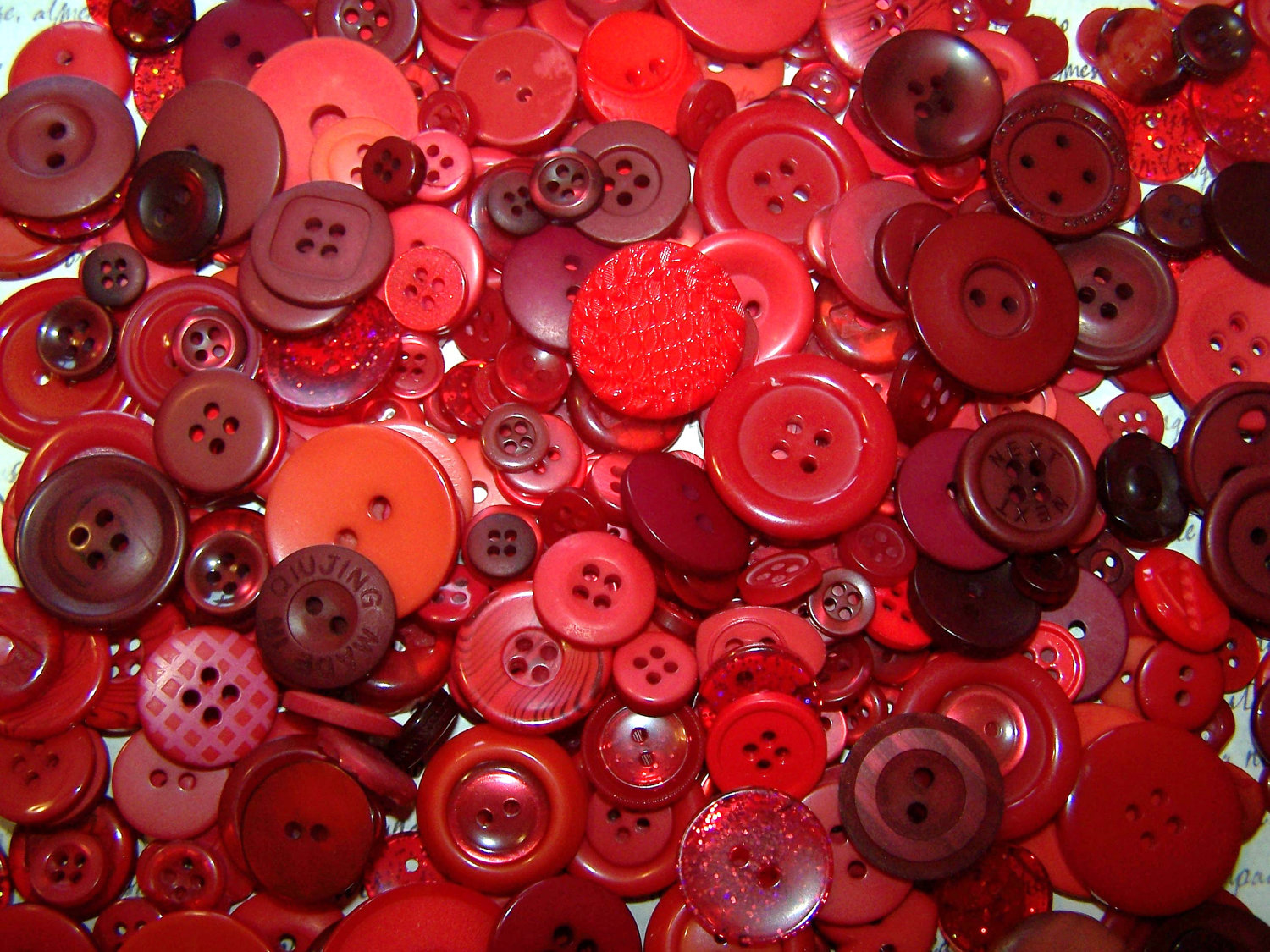 Nice Images Collection: Red Buttons Desktop Wallpapers