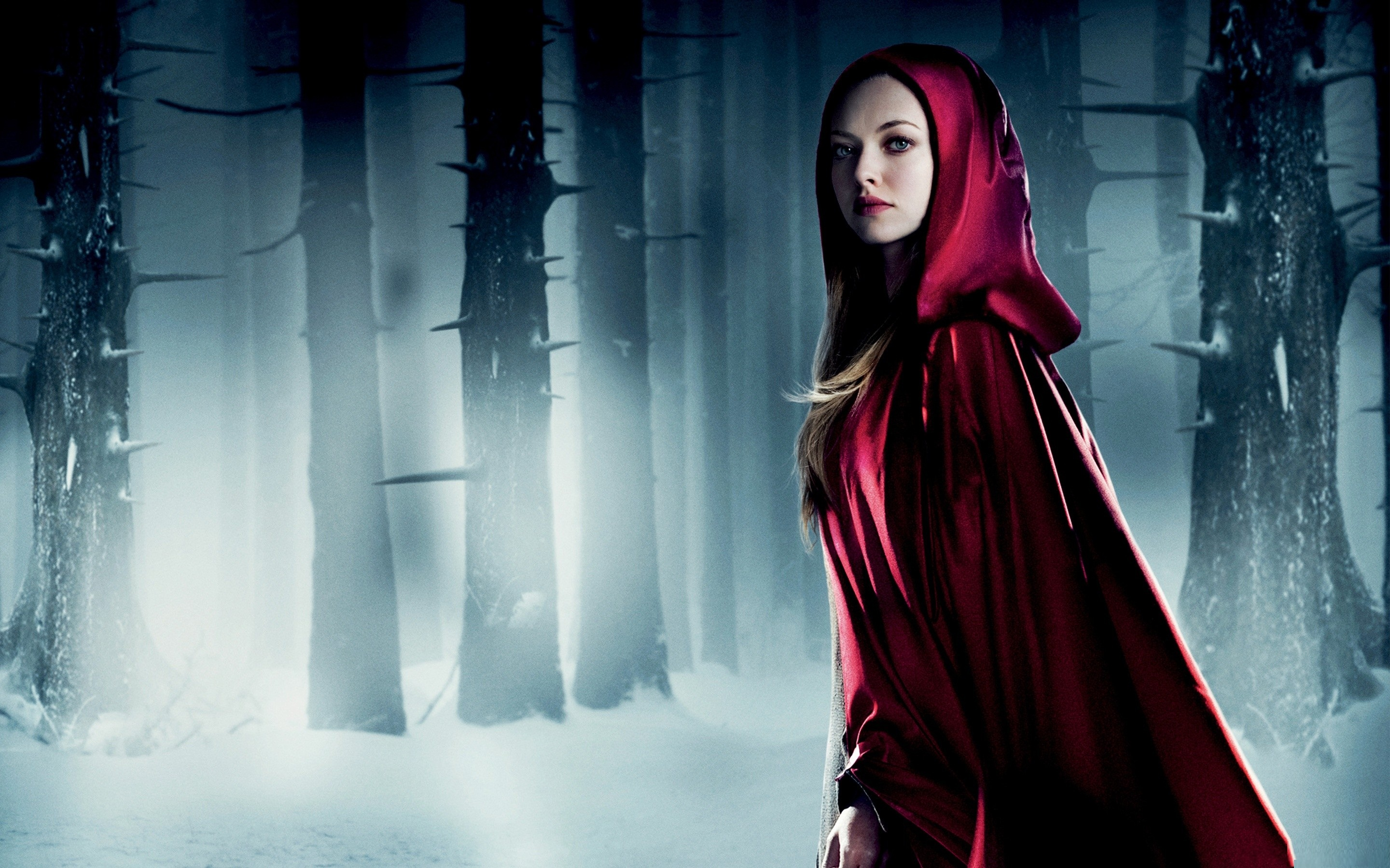 Nice wallpapers Red Riding Hood 2880x1800px