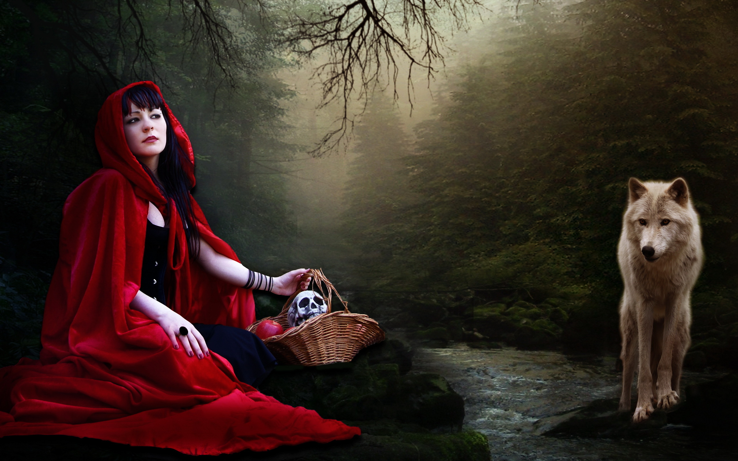 Red Riding Hood High Quality Background on Wallpapers Vista