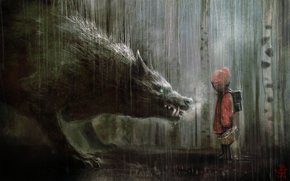 Nice Images Collection: Red Riding Hood Desktop Wallpapers