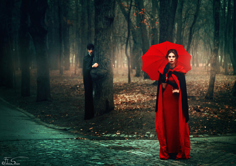 Nice wallpapers Red Riding Hood 800x563px