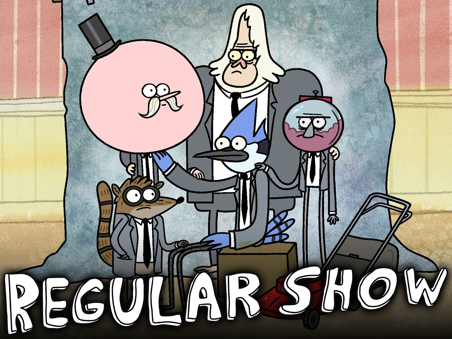 High Resolution Wallpaper | Regular Show 1440x1080 px