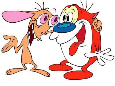 Nice Images Collection: Ren And Stimpy Desktop Wallpapers