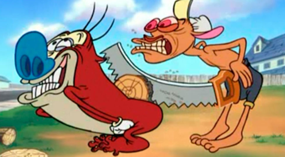 Nice wallpapers Ren And Stimpy 980x541px