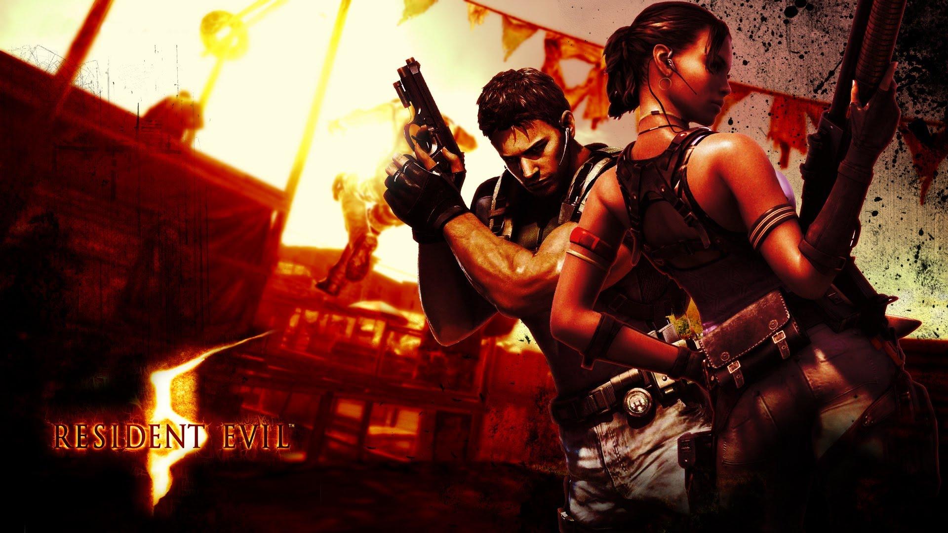 Resident Evil 5 Wallpapers Video Game Hq Resident Evil 5