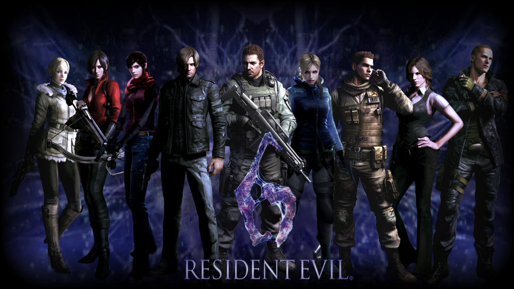 Resident Evil 6 Wallpapers Video Game Hq Resident Evil 6