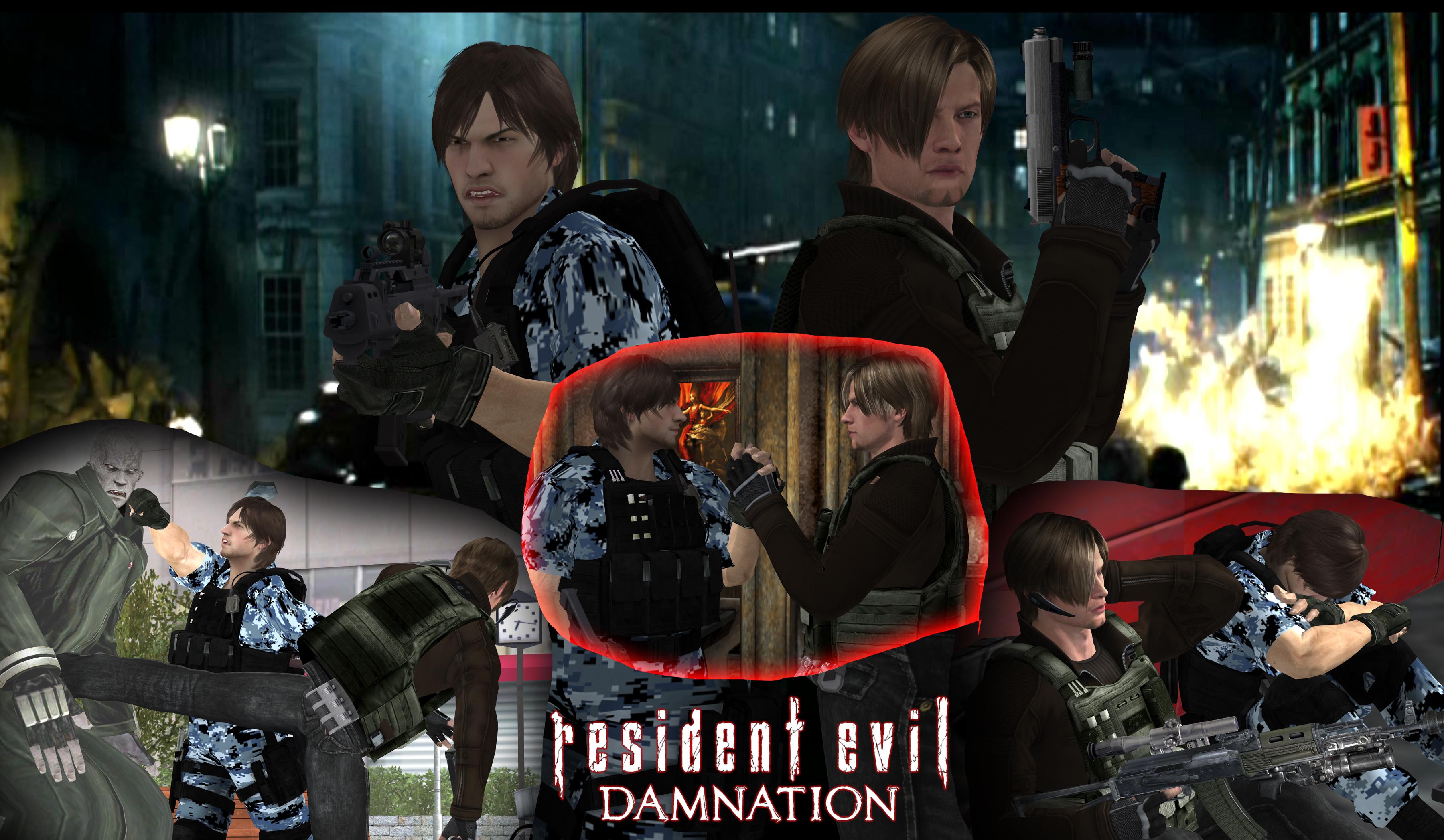 Resident Evil Damnation Wallpapers Movie Hq Resident Evil