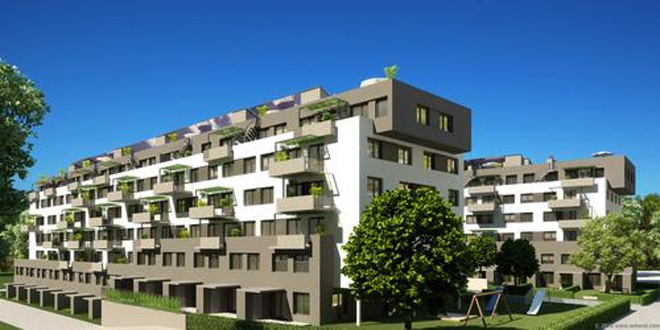 Nice Images Collection: Residential Complex Desktop Wallpapers