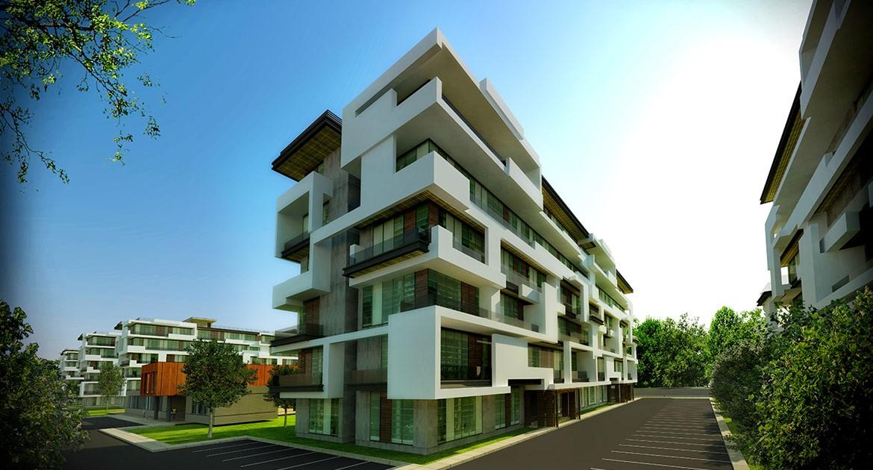 High Resolution Wallpaper | Residential Complex 1170x630 px