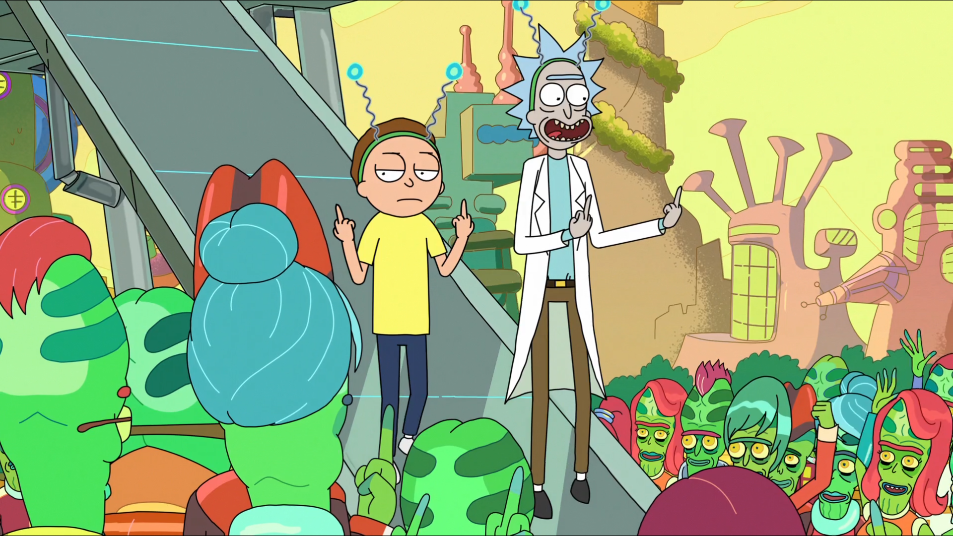 Nice wallpapers Rick And Morty 1920x1080px