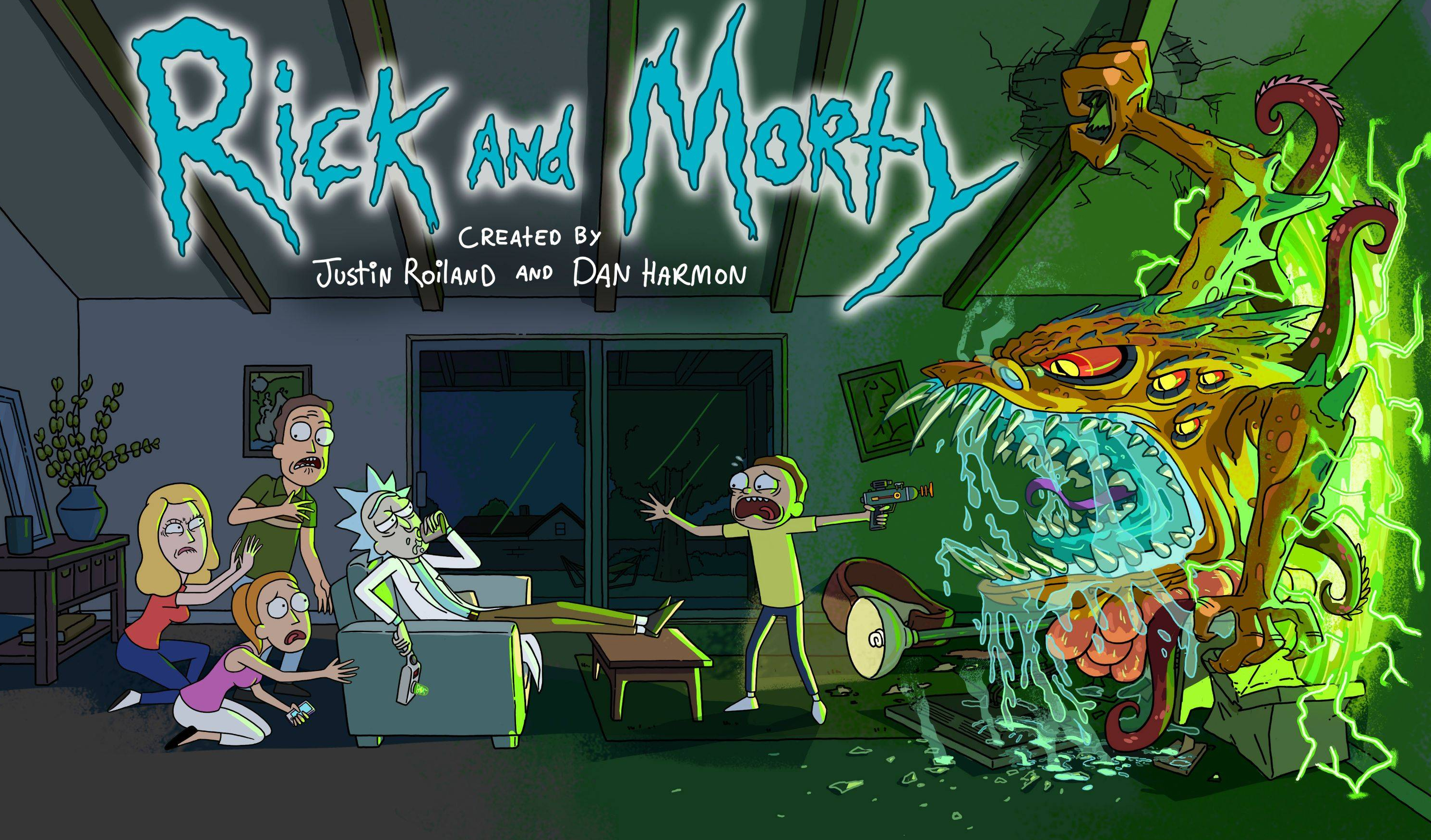 High Resolution Wallpaper | Rick And Morty 2981x1750 px