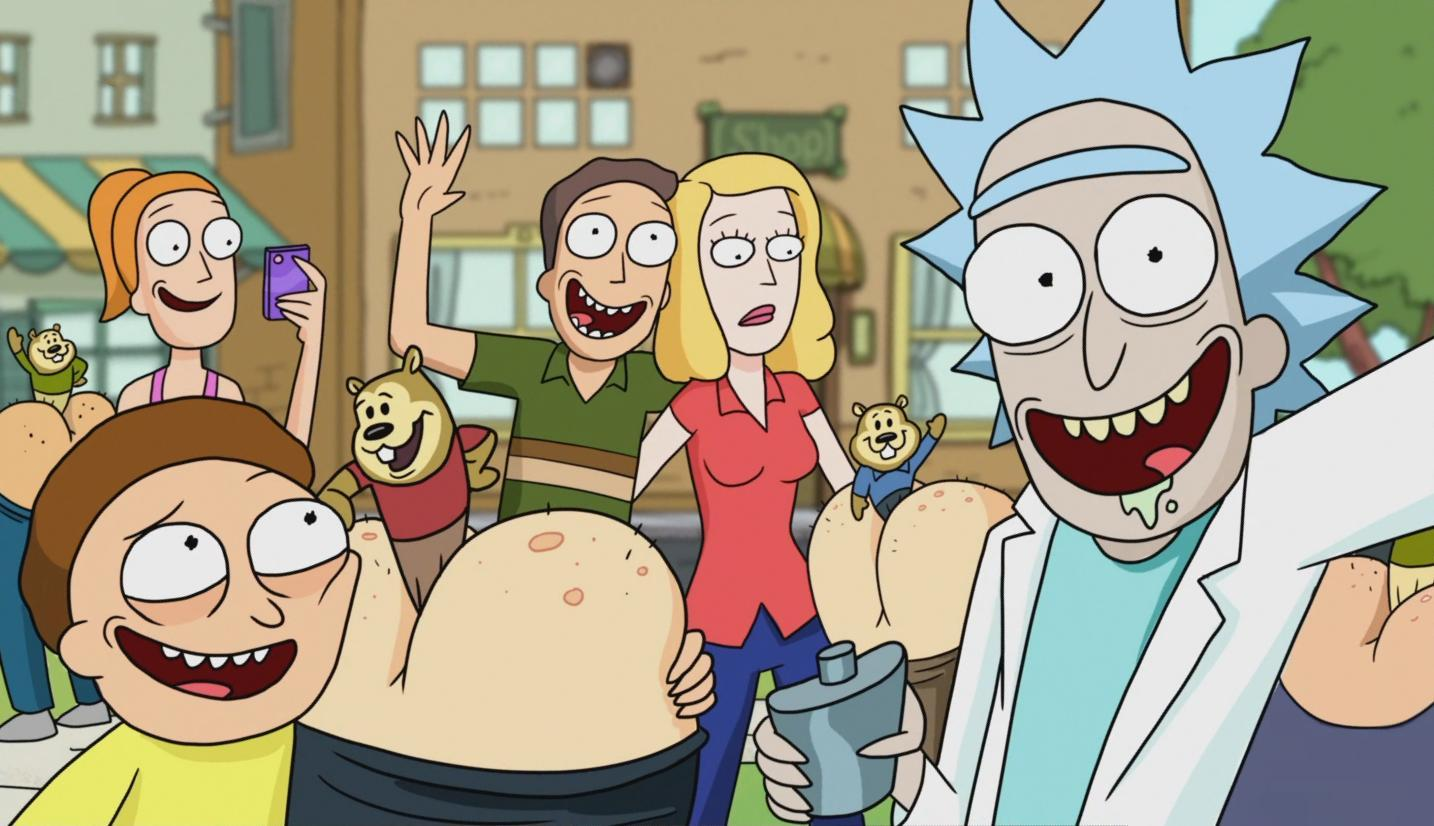 Rick And Morty Backgrounds, Compatible - PC, Mobile, Gadgets| 1434x826 px