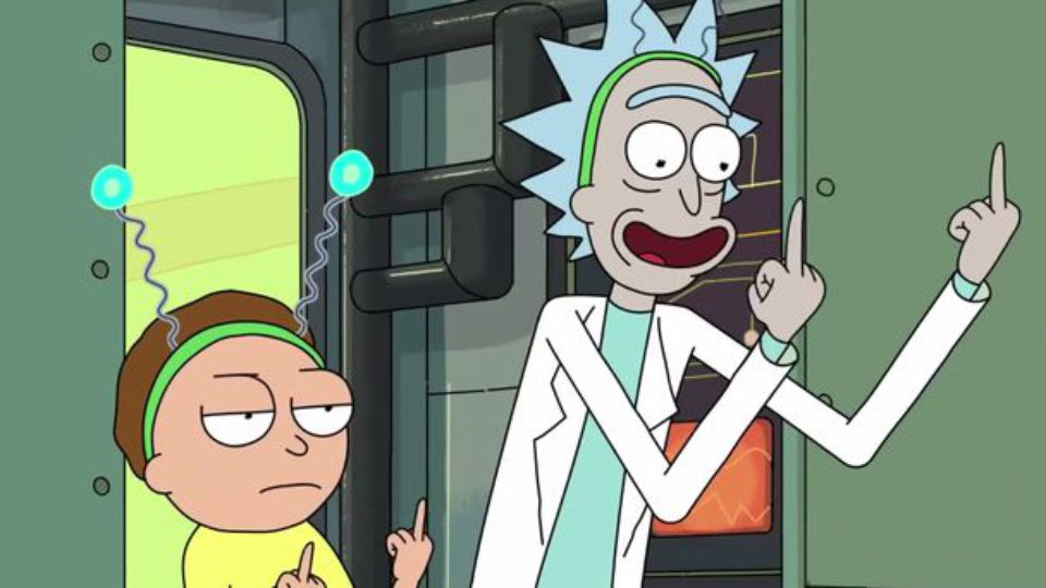 Nice wallpapers Rick And Morty 960x540px
