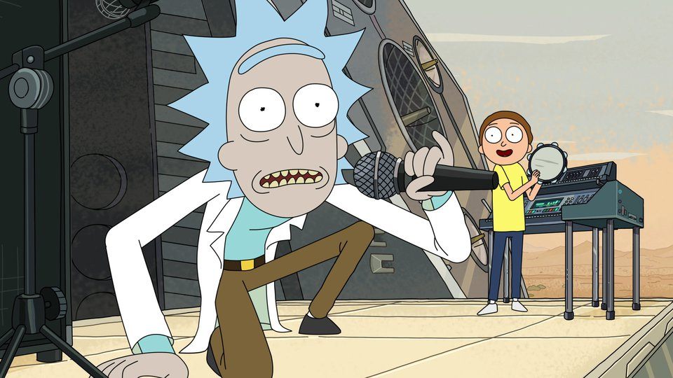 HD Quality Wallpaper | Collection: Cartoon, 960x540 Rick And Morty