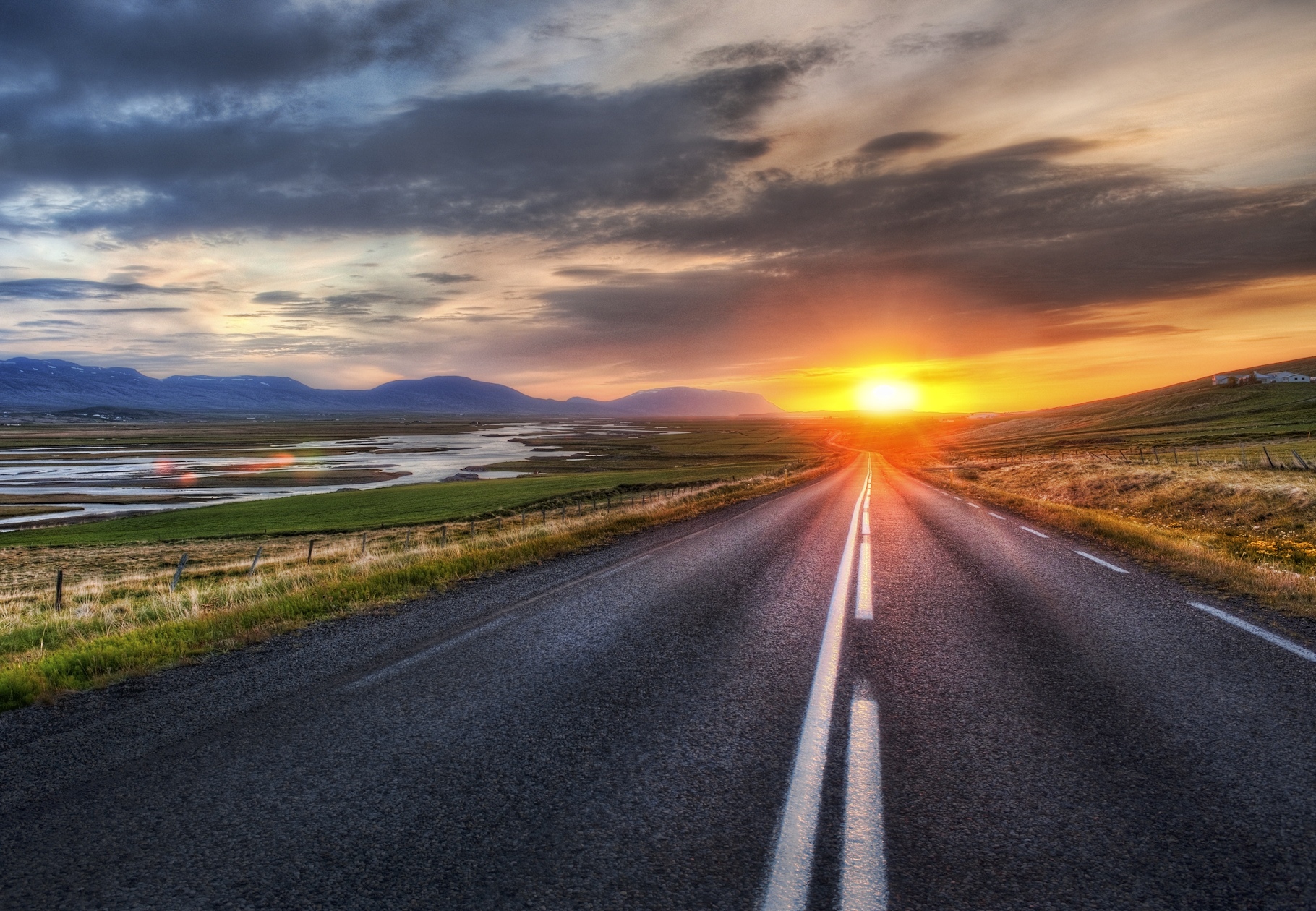 Road Backgrounds on Wallpapers Vista
